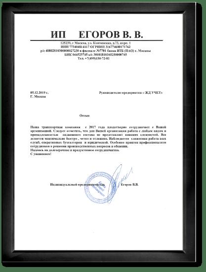 ИП Егоров